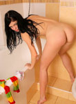 LittleDanni: Nude Danni in bathroom